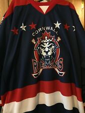 LNAH 2014-15 CORNWALL RIVERKINGS REPLICA HOCKEY JERSEY