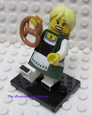 Lego Minifigure Series 11 Pretzel Girl - New