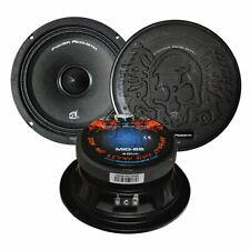"""Power Acoustik MID-65 6.5"""" 300 Watt Midrange Bass Driver Car Stereo Speake-One"""