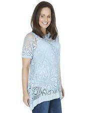 Casual Floral Viscose Tops & Shirts Size Petite for Women