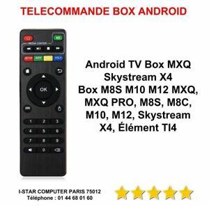 TELECOMMANDE BV X96 MINI ANDROID BOX MXQ PRO 4 K  T95M T95N M8S NEUVE REMOTE