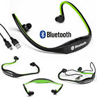 Bluetooth Wireless Headset Headsets Stereo Headphone For iPhone 7 Samsung ipod