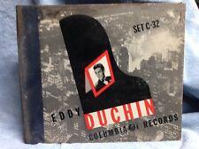 Eddie Duchin -  SET C-32 Columbia Records, 3 of 4 Records in Original Album
