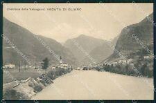 Vicenza Valstagna Oliero Ferrovia della Valsugana Mappa cartolina VK1097