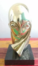"CONSTANTIN BRANCUSI BRONZE SCULPTURE ""POGNANY"" SIGNED AND NUMBERED"