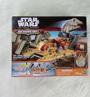 Millennium Falcon Playset - SEALED - Micro Machines Star Wars The Force Awakens