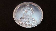 Silbermünze 3 Mark Wilhelm II König von Preussen 1913 A