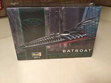 Revell #6722 1:25 Batman Forever Batboat New Vintage 1995 Issue Model Boat Kit
