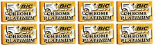 BIC Chrome Platinum Double Edge Safety Razor Blades, 40 Count