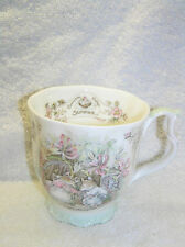 BRAMBLY HEDGE ROYAL DOULTON SUMMER FULL SIZE BEAKER SEASONS 1ST QUALITY