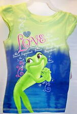LOVELY TEE-SHIRT PRINCESSE TIANA ET LA GRENOUILLE 7-8 ans DISNEY PRINCESS NEUF