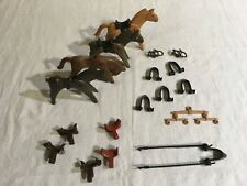 Lot 24: Playmobil 22 Misc Horse & Horse Accessories - Gently Used