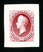 US Stamps # 155 Fresh Large Die on India Paper Scott Value $300.00