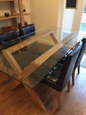 John Lewis Glass Up to 6 Seats Table & Chair Sets