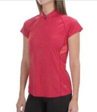 Arcteryx Womens Kapta Zip Neck Short Sleeve / Red / Small / NWT