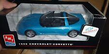 AMT 8084 1998 CORVETTE BLUE 1/25 MODEL CAR MOUNTAIN Promo