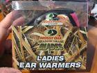 Ladies Mossy Oak Ear Warmer Muffs Shadow Grass Blades Camo & Pink / OSFM Women
