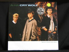 "a-ha. Cry Wolf. 45rpm 12"" (inch) Single. 1986. Made In Australia"