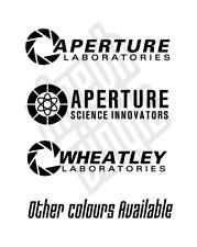 Apertura Set Ciencia Inovators pegatina de vinilo calcomanía Laboratorios De Portal de la mitad de la vida