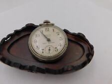 Vintage Westclox Scotty Dollar Pocket Watch Works Good    dr12