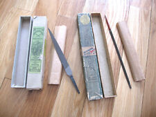 VINTAGE VERY GOOD QUALITY LOT OF FILES SIMONDS & NICHOLSON W/ BOXES