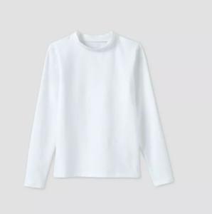 NWT Cat & Jack Boys' SMALL (6/7) Long Sleeve Rash Guard Swim Shirt - White