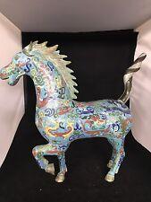 Chinese Antique Cloisonné Horse 18 (H)