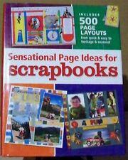 Sensational Page Ideas for Scrapbooks