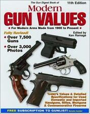 The Gun Digest Book of Modern Gun Values: For Modern Arms Made from-ExLibrary