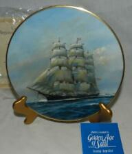 "Mib 1981 Golden Age of Sail ""Young America"" #2 by Charles Lundgren Plate"