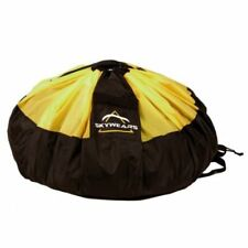 PARAGLIDING QUICK BAG, FAST PACK BAG, PARAMOTOR QUICK BAG BLACK/YELLOW