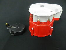 CHEV FORD HOLDEN RED HEI DISTRIBUTOR CAP INC COIL AND ROTOR BUTTON