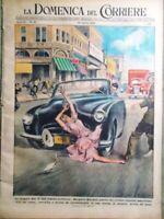 La Domenica del Corriere 28 Agosto 1949 Margaret Mitchell Monte Bianco Roucester