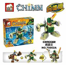 2 Sets Legends of Chima Cragger & Gorzan No Box fit lego #2