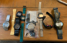 Lot 8 Casio Watches. Untested Some Working. G Shock Baby G Forester W92H MUG75
