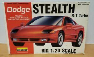 Lindberg Dodge Stealth R/T Turbo  plastic model car kit  Sealed bags.1/20 scale