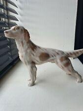 More details for royal copenhagen - porcelain english setter dog figurine 1962  - denmark #3252