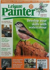 Leisure Painter UK Dec 2016 Develop Your Skills With Watercolor FREE SHIPPING sb
