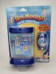Vintage Sea Monkeys Wrist Aquarium Watch 2002 RARE NIP HTF Live New