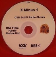 X Minus 1 127 Sci-Fi Shows on X-1 Old Time Radio MP3 DVD OTR