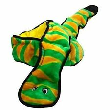 Outward Hound 32005 Invincibles Plush Snake Stuffingless Durable Dog Toys Toy