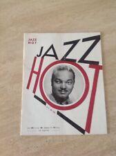 Jazz hot N°27 Revue Du Hot Jazz Club De France Nov 1948 Couv :Sy Oliver