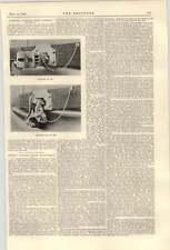 1900 gli accoppiatori automatici GREAT Northern Railway lontane Electric Power transmiss