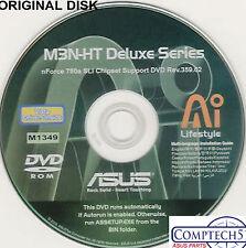 ASUS GENUINE VINTAGE ORIGINAL DISK FOR M3N-HT DELUXE Motherboard Disk M1349