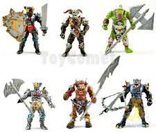 Set of 6 Orc Warrior Beast Angle Gladiator Wizard Action Figures Playset