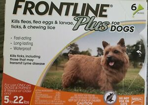 Frontline Plus Flea and Tick Treatment for Dogs 6 Doses
