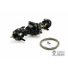 1/14 rc car truck part for Tamiya 4X4 all Metal steering Axle #2 w/diff lock V4
