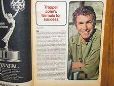 May 20, 1973 Chicago Tribune TV Week(WAYNE  ROGERS/THE  ROOKIES/MICHAEL  ONTKEAN