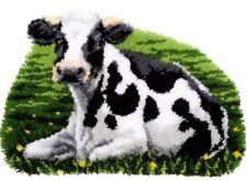 Vervaco Knüpfteppich Tiermotiv  Kuh 70x47 cm 1 St  KKPN0157078