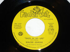Walter Jenkins: Back In My Life / Funky Walk    [new Unplayed Copy]